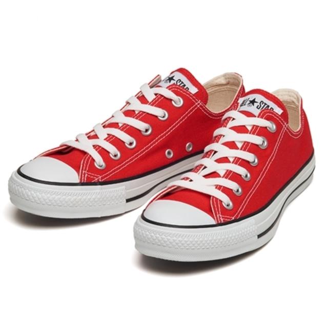 コンバース オールスター OX ALL STAR OX RED