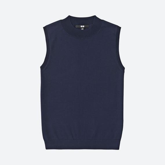 UVカットノースリーブセーター