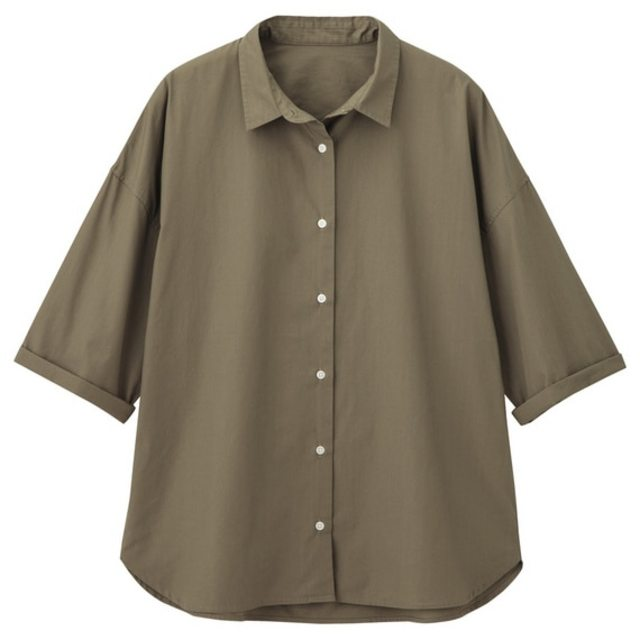 オーバーサイズワイドスリーブシャツ(半袖)