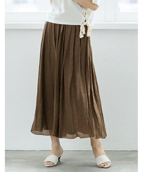 楊柳ロングスカート