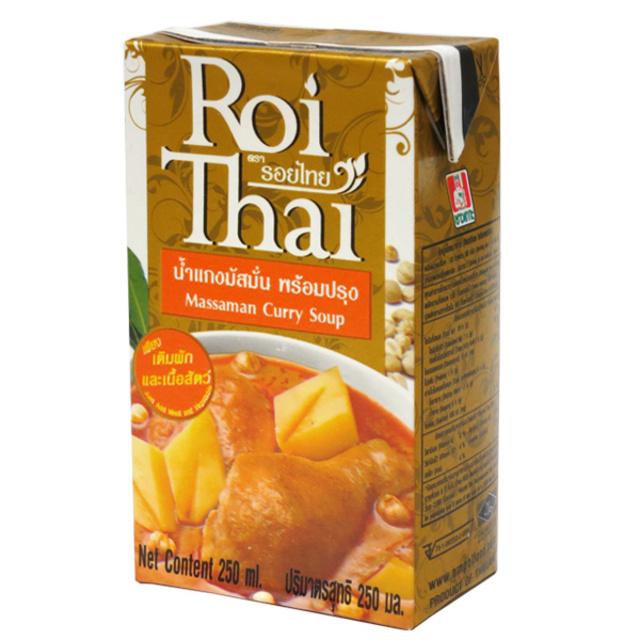 Roi Thai ロイタイ マサマンカレー 250ml