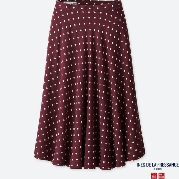 レーヨンフレアスカート