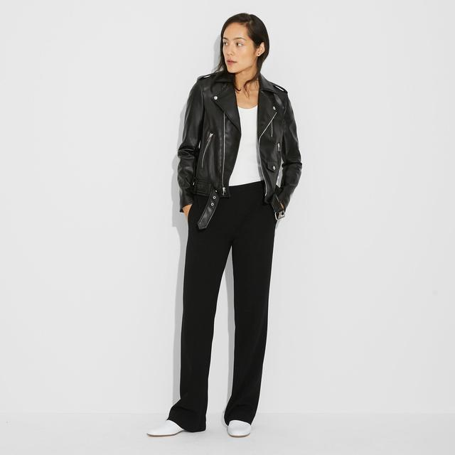 Waverly Faux Leather Modern Moto
