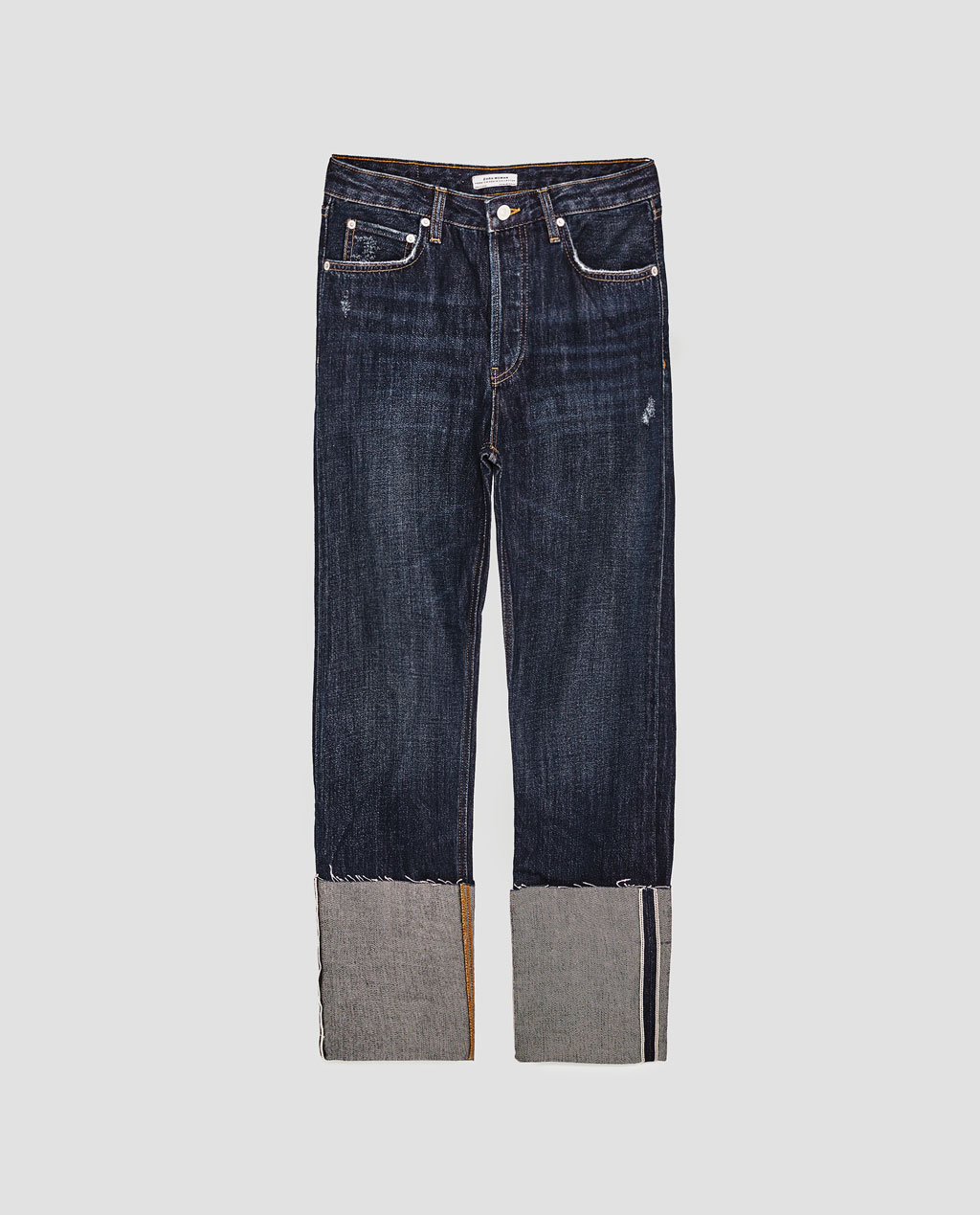THE VINTAGE STRAIGHT JEANS IN SAMURAI BLUE