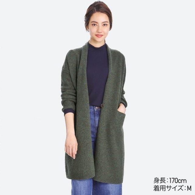 メランジウールコート(長袖)