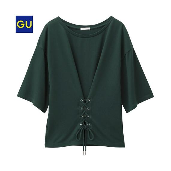 コルセットT(5分袖)