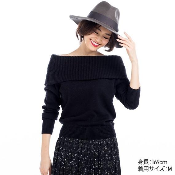 ラムブレンドオフタートルネックセーター(長袖)