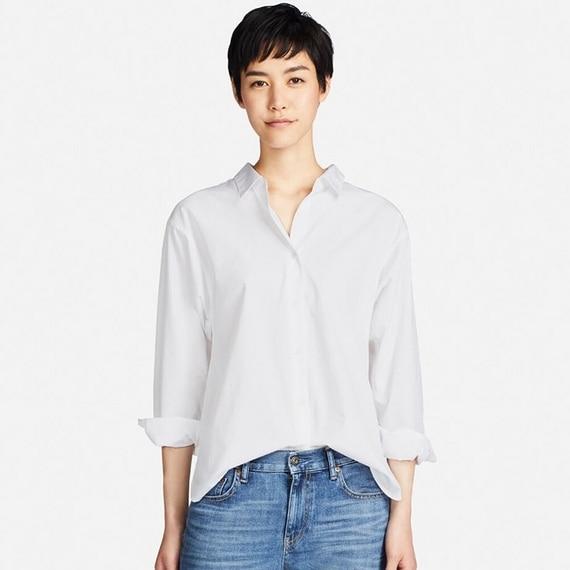 エクストラファインコットンシャツ(長袖)