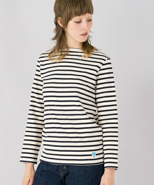 コットンロード フレンチバスクシャツ ST WOMEN