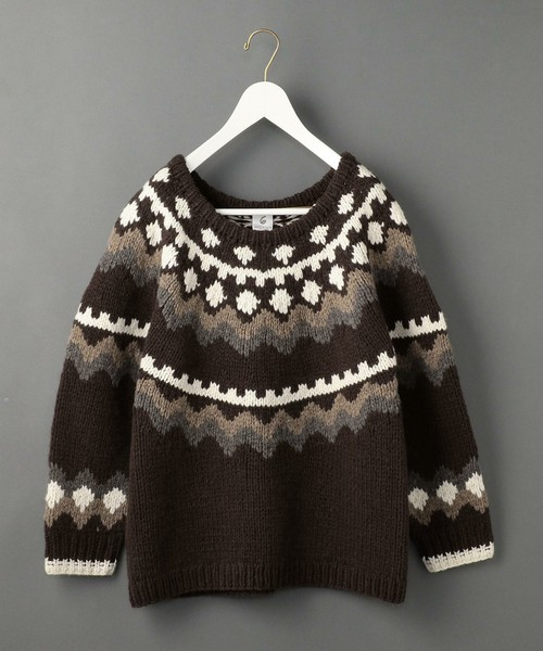 NORDIC KNIT PULLOVER
