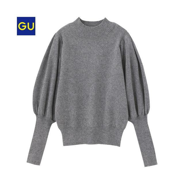 ボリュームスリーブセーター