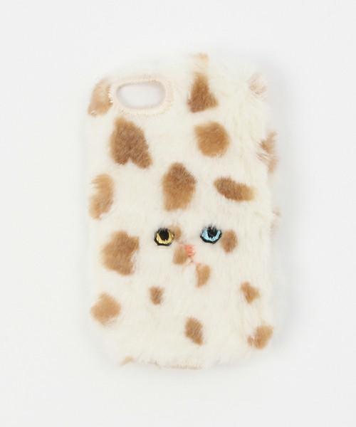 CAT iPhoneカバー ドット