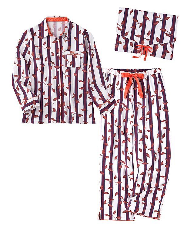 ウォームコットンシャツパジャマセット