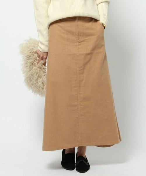 オックススエードロングスカート