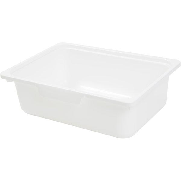 カラボにぴったり 収納ボックス(浅型/WH)