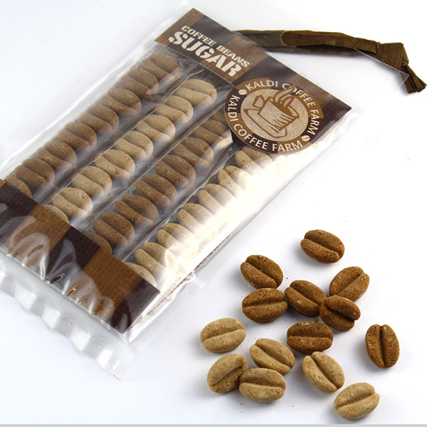 カルディオリジナル コーヒービーンズシュガー 8p×4袋