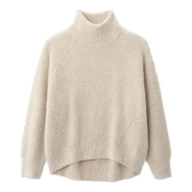 テディオーバーサイズセーター