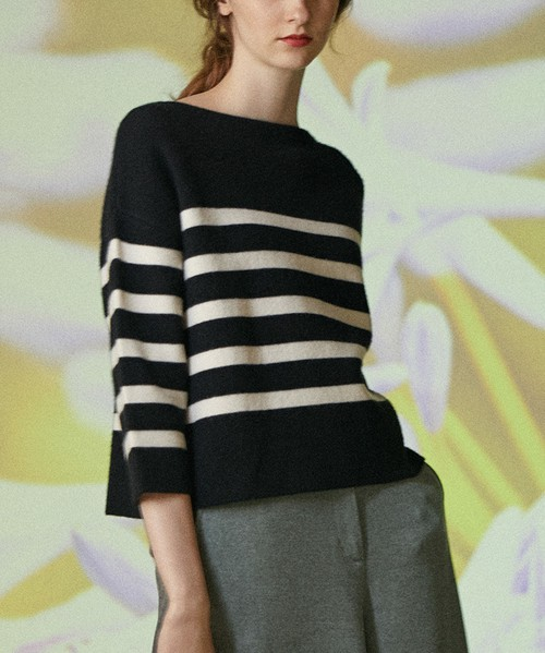 ODETTE DOUBLE FACE PULLOVER