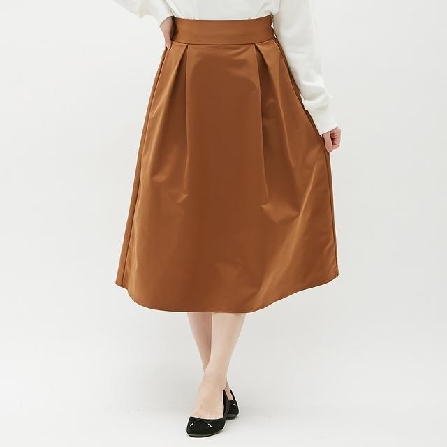 フレアミディスカート