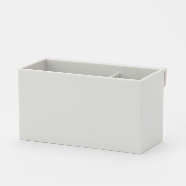 ポリプロピレンファイルボックス用・仕切付ポケット