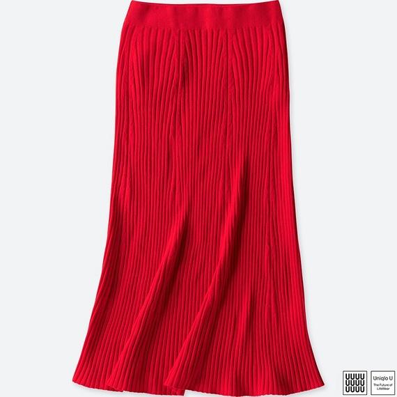 3Dメリノリブスカート+E