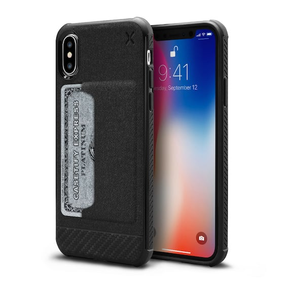 iPhone X Essential Woven Card Case