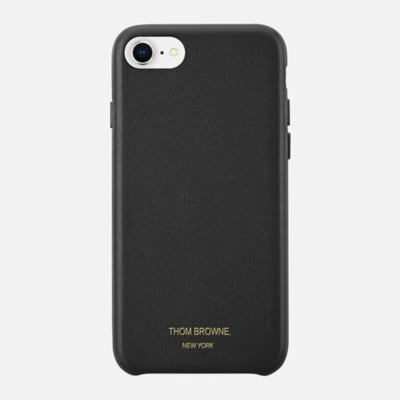 THOM BROWNE X CASETIFY Leather iPhone Case