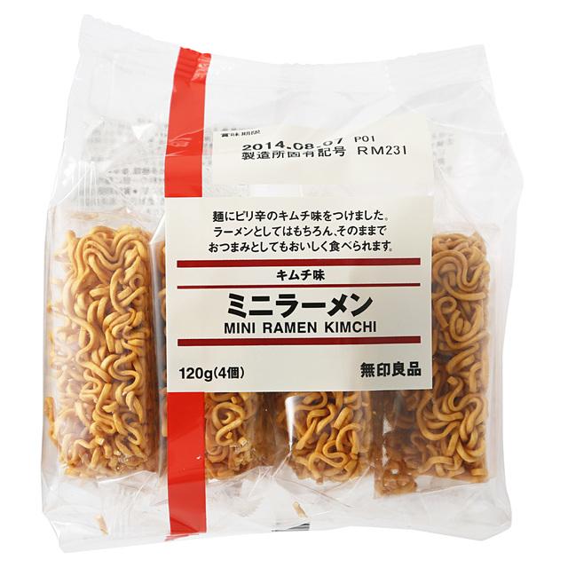 キムチ味 ミニラーメン