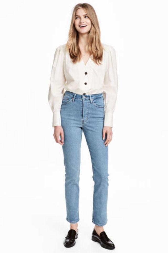 Vintage Slim Ankle Jeans