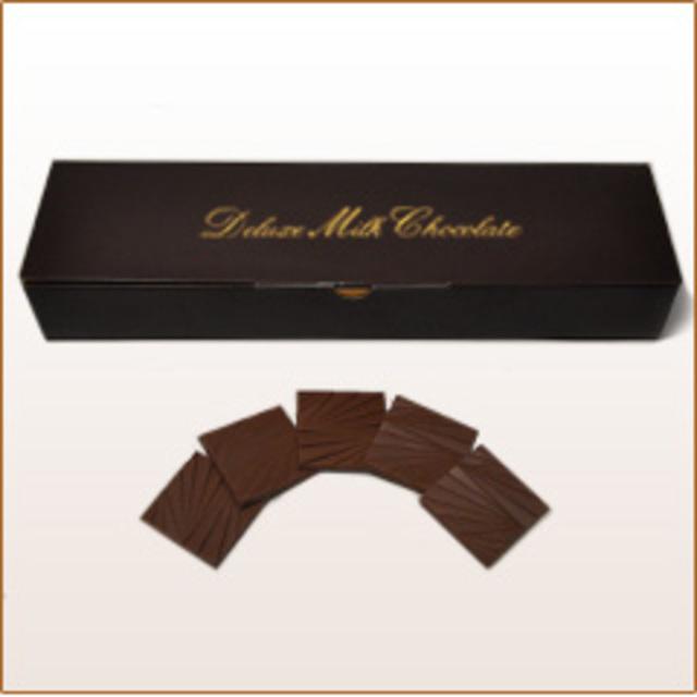 有楽製菓「デラックスミルクチョコレート薄板」
