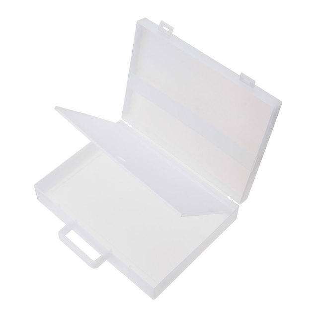 自立収納できるキャリーケース・A4用 約縦28(持ち手含)×横32×厚さ7㎝
