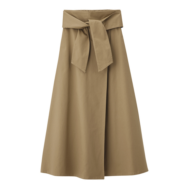チノフレアマキシスカート