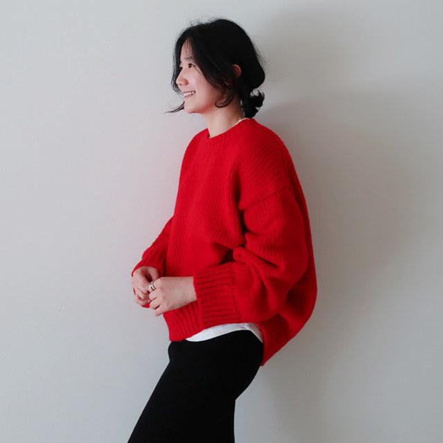ゆるかわニットセーター