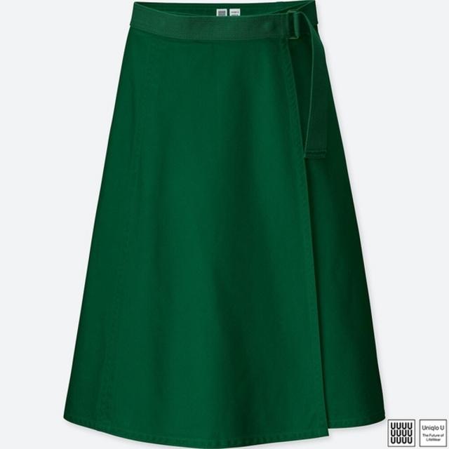 ベルテッドラップスカート