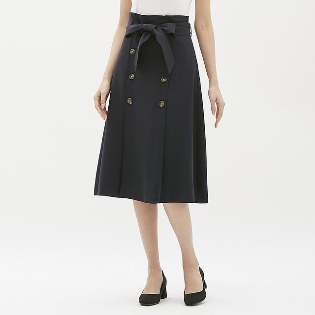 トレンチAラインスカート