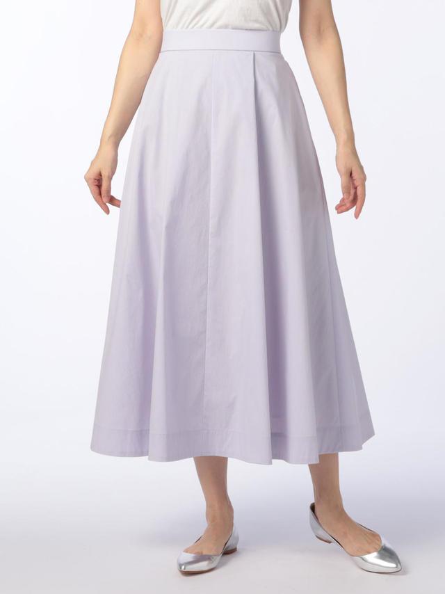 タイプライターフレアースカート