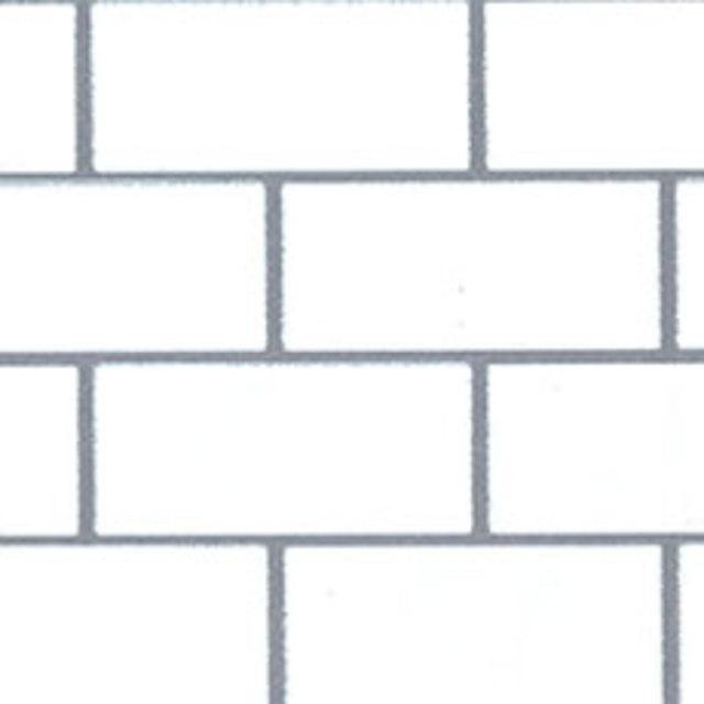 レンガ柄 ホワイト SBB-8432