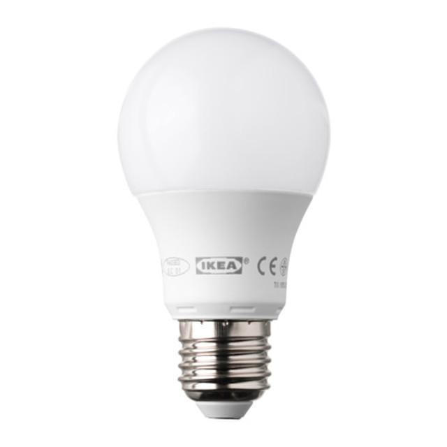 LEDARE LED電球 E26 400ルーメン 調光対応 球形 オパールホワイト