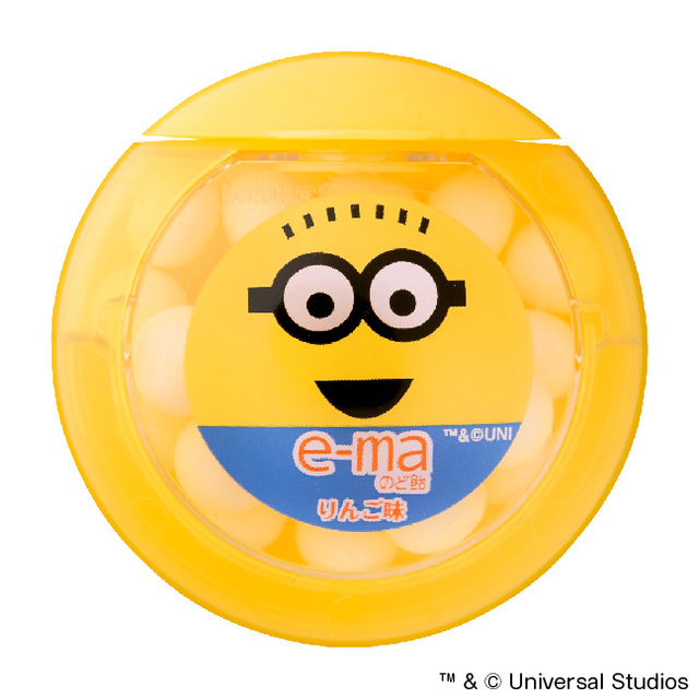 e-maのど飴 容器 ミニオン(1セット6個入)