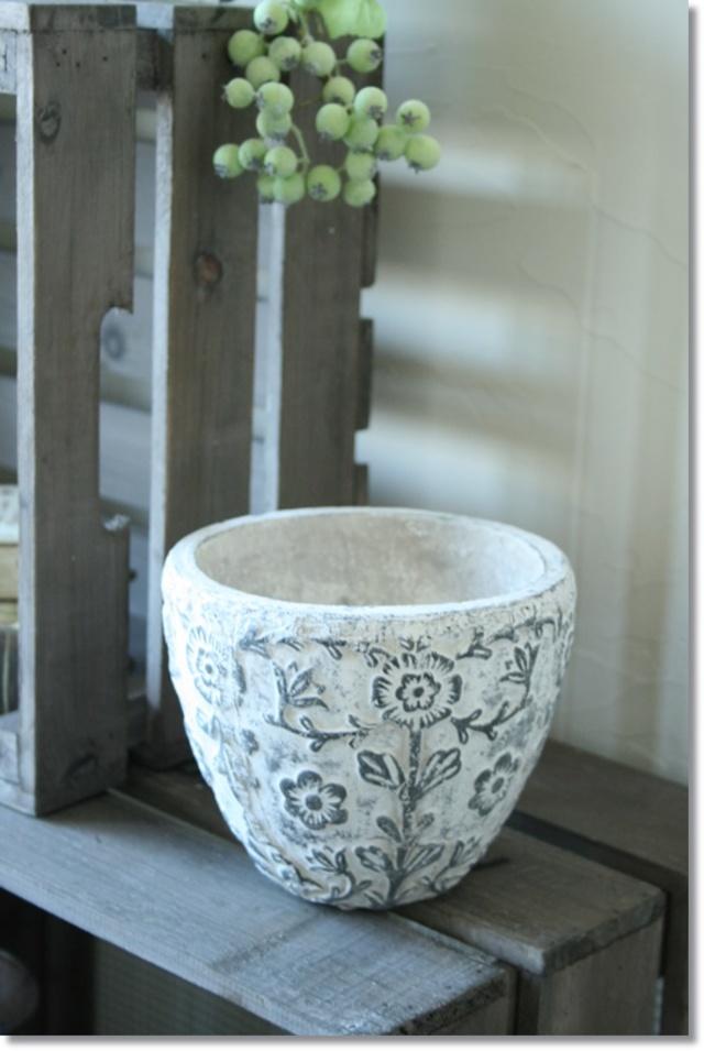 アンティーク風 植木鉢