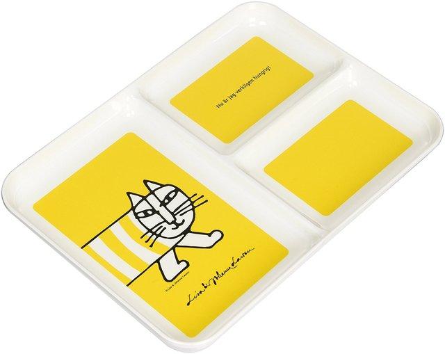 三好製作所 ランチプレート メラミン LISA LARSON MIKEY イエロー MM-002