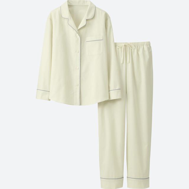 コットンパイピングパジャマ(長袖)