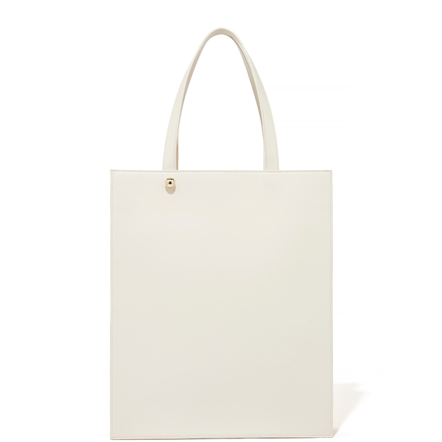 LONG TOTE IVORY