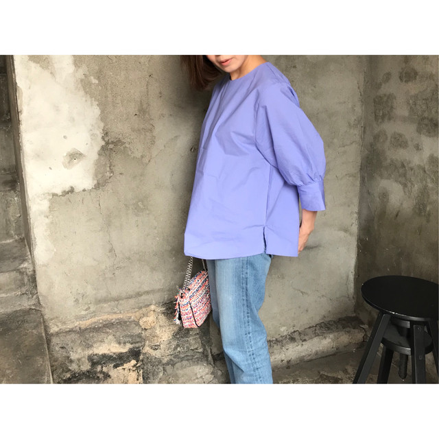 sleeve volume blouse
