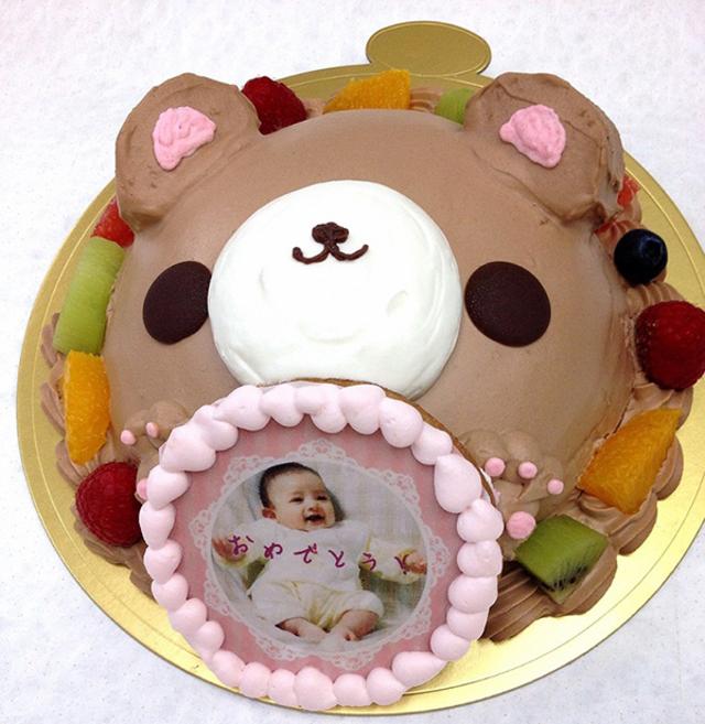 スイートベアー 生チョコレート バースデーケーキ