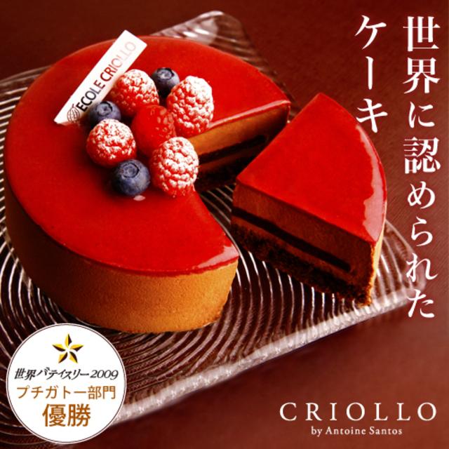クリオロ ニルヴァナ(直径12cm)約2〜4名様向け【冷凍便】バースデーケーキ ブラックベリー チョコレート