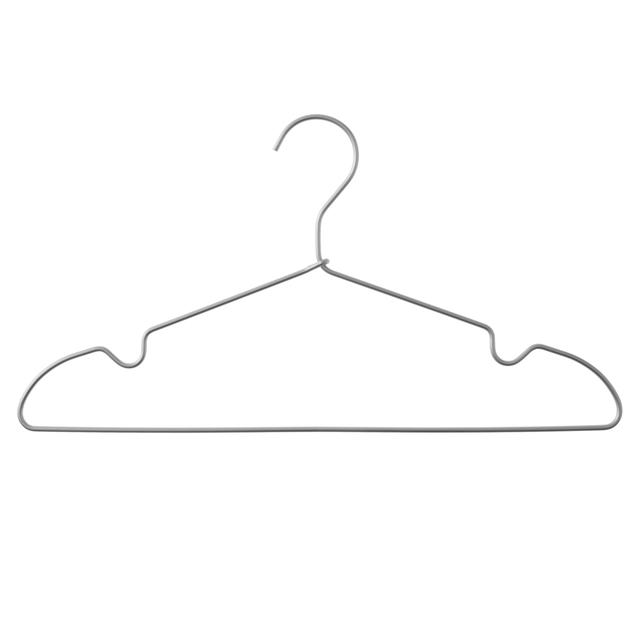 アルミ洗濯用ハンガー・肩ひもタイプ・3本組 約幅41cm