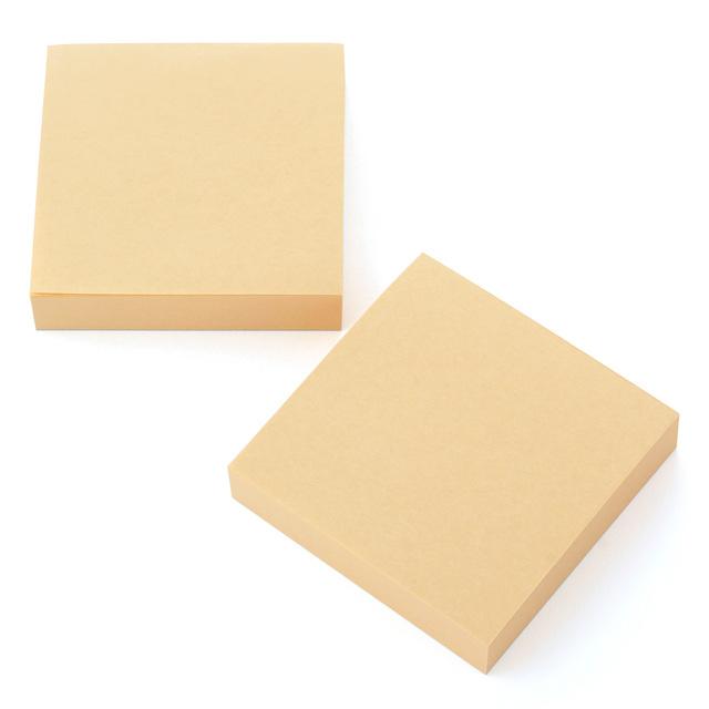 半ざらし ブロックメモ 2冊組 10×10・300枚