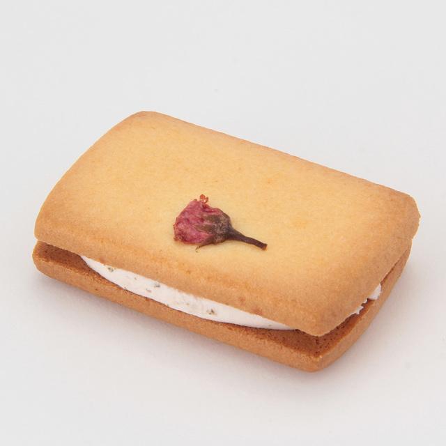 桜のクリームサンドクッキー 1個