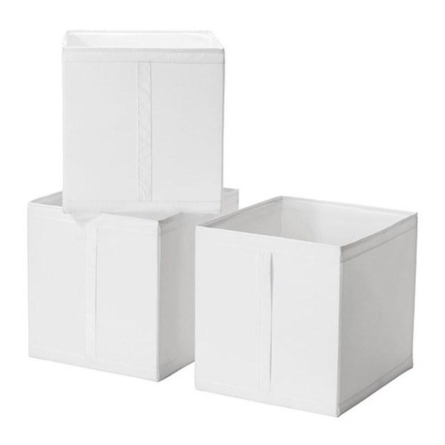 SKUBB ボックス ホワイト
